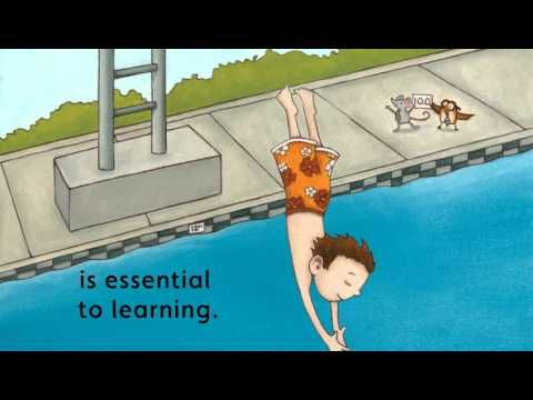 Your Fantastic Elastic Brain-- book for explaining to kids how they learn, even by making mistakes