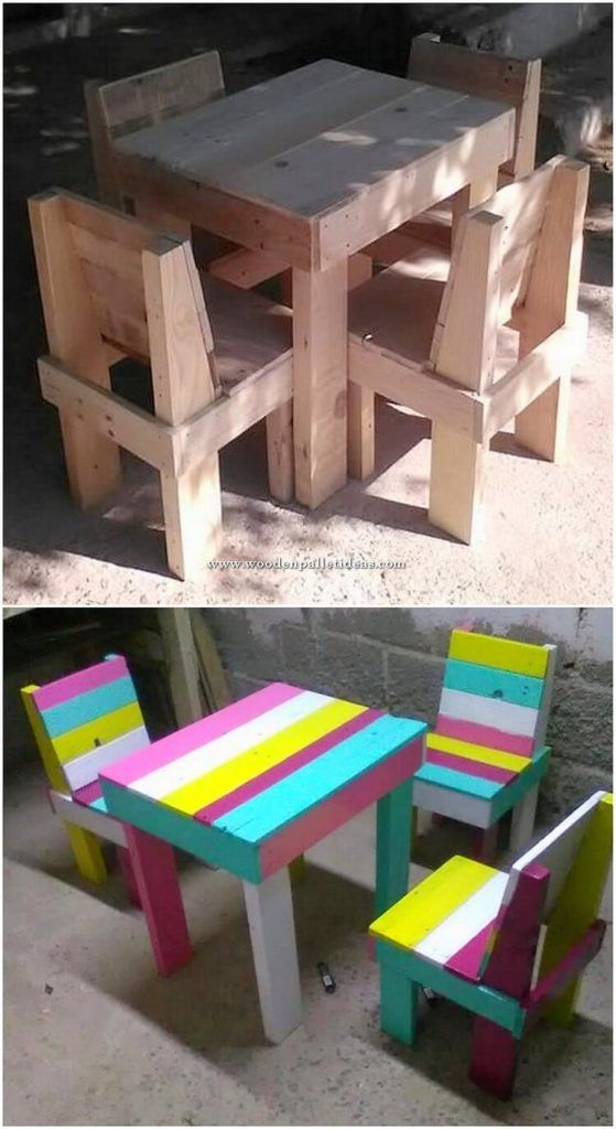 Pallet Kids Furniture Pallet Furniture Kids Wood Pallets