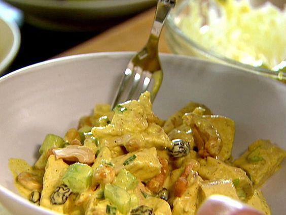 Ina Garten's Curried Chicken Salad. YUM