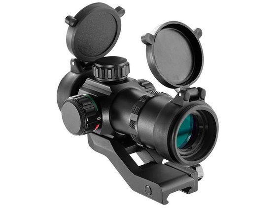 Barska Tactical Red Dot Sight 1x 30mm 3 MOA Dot Picatinny-Style Mount