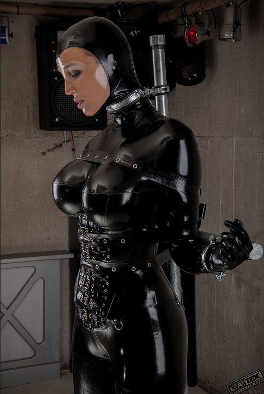 bondage girl Latex slave