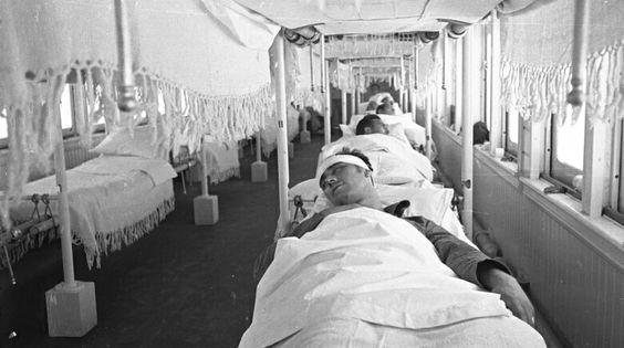 Hospital de campaña. Escena sin identificar. Autor: Guillermo López Zúñiga.