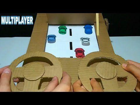Como Fazer Um Jogo De Carro Multiplayer Em Casa Youtube Paper Crafts Diy Kids Paper Games For Kids Diy For Kids