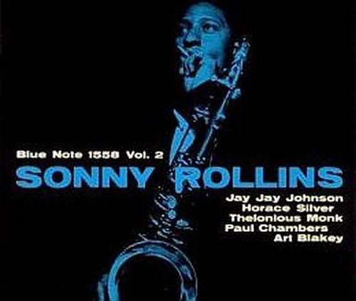 "Recorded on April 14, 1957, ""Sonny Rollins, Vol. 2"" is an album by Sonny Rollins, noted for the appearance of pianists Thelonious Monk and Horace Silver, both playing on the Monk composition ""Misterioso"". TODAY in LA COLLECTION on RVJ >> http://go.rvj.pm/344"