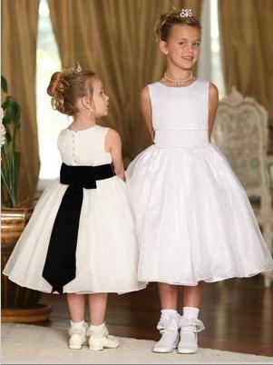 Tip Top Flower Girl Dress 5378 at frenchnovelty.com