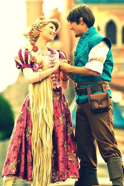 Rapunzel & flynn-eugene