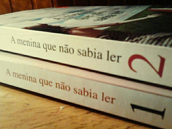 Livro: a menina que não sabia ler...