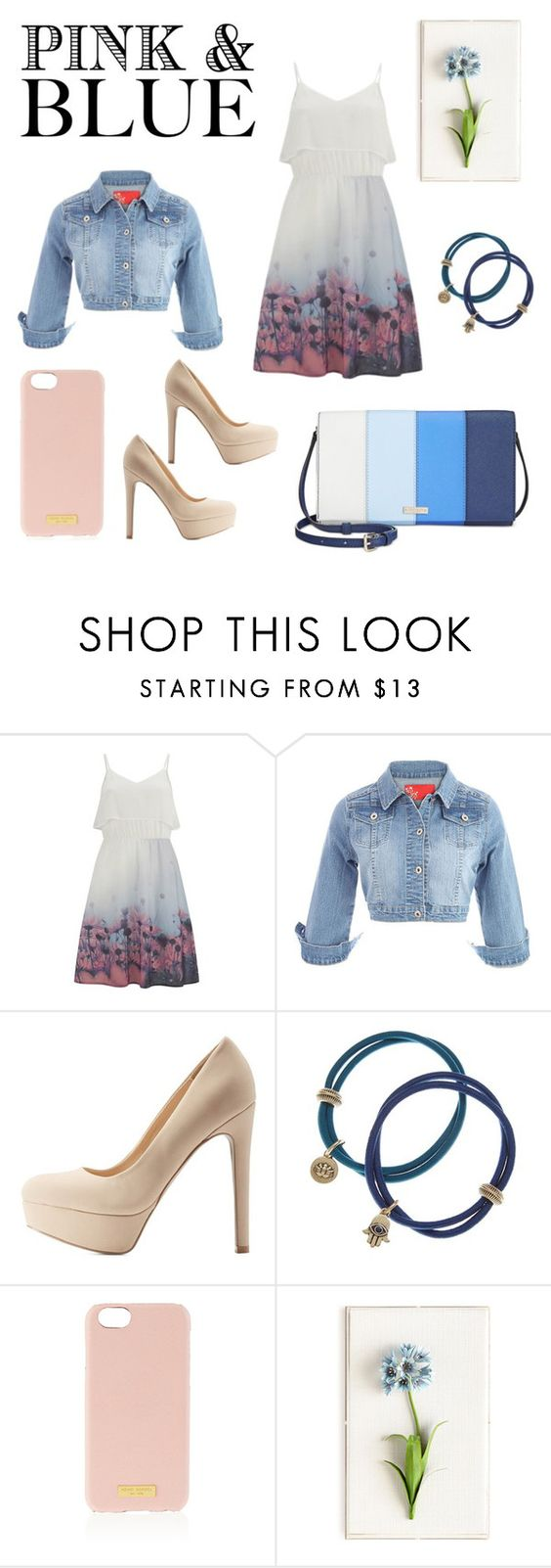 """""""sweet girl"""" by therealnajwa on Polyvore featuring Vero Moda, Qupid, Lucky Brand, Henri Bendel, Tommy Mitchell and Kate Spade"""