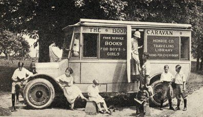 Monroe County (N.Y.) Traveling Library, 1923.