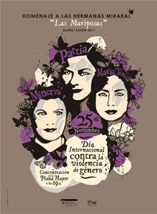 Gijón homenajeará a las hermanas Mirabal en el Día Internacional contra la Violencia de Género