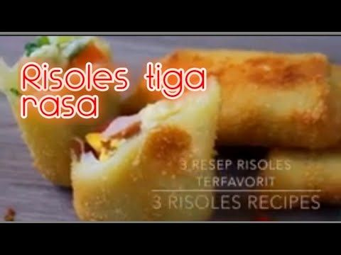 Cara Simple Membuat Risol Tiga Rasa Caramembuatrisol Jajanan Kue Cemilan Risoles Youtube Resep Makanan Makanan Cemilan