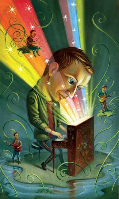 Chris Buzelli ~ Coldplay: Mylo Xyloto / Client: Rolling Stone magazine