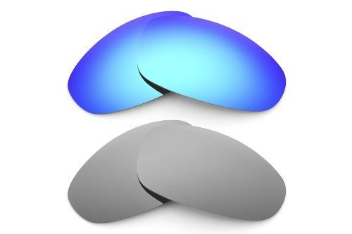 New VL Polarized Ice Blue & Silver Ice Replacement Lenses for Oakley Juliet Sunglasses Combo Visionary Lenses. $49.99