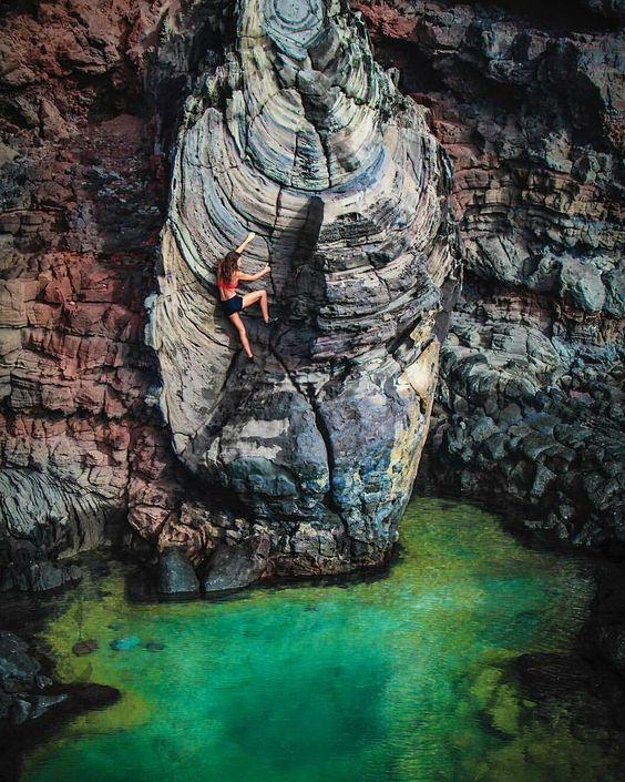 "Shut Up and Climb — yuukin030:   ""Aloha  DeepWaterSoloing in..."