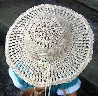 Knit Summer Hat Patterns Free : sun hat free pattern ravelry Knitting (+ more) for 18