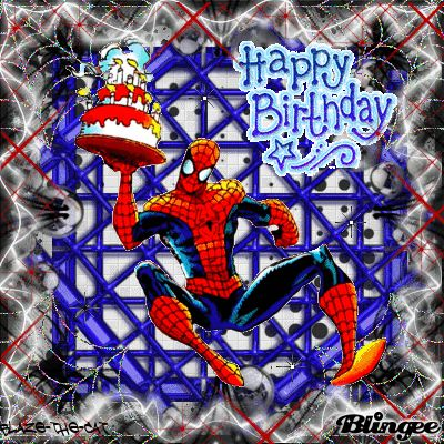 Happy Birthday- Spiderman | All things Prison | Pinterest ...