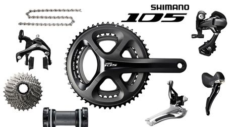 Renueva tu #bicicleta de carretera con el grupo Shimano 105, por mucho menos de lo que imaginas. Descuentos de hasta el 40% en componentes seleccionados.