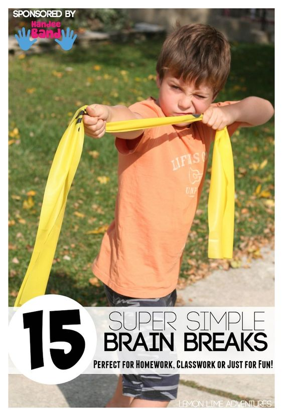 Simple Brain Break Activities