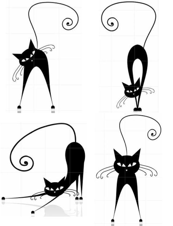 Siluetas gatos 3 (609×794)