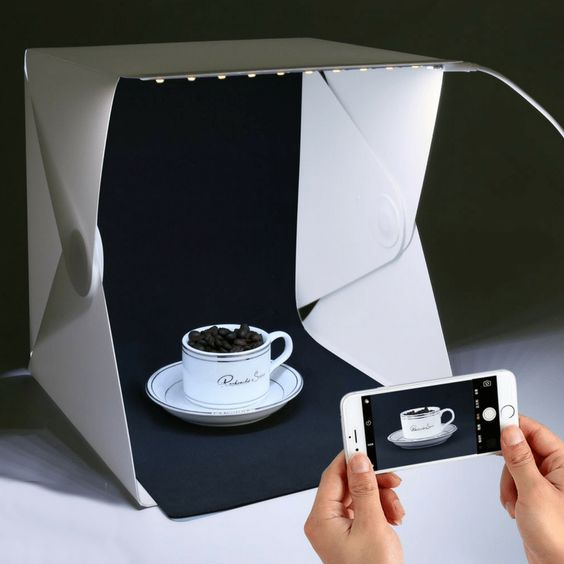 Light tent Box Photography Home Photo Studio Best Portable Led Box