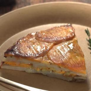 Potato & Sweet Potato Torte Recipe