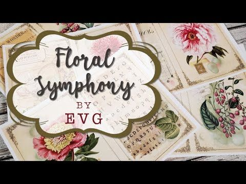 New Printable Journal Collection Floral Symphony Ephemera S Vintage Garden Youtube In 2020 Handmade Journals Vintage Ephemera Journal Printables