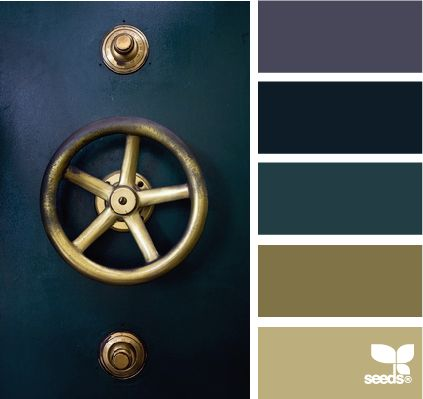 LOVE these colors. I can't decide whether I'd like them best on the exterior of my house or as a bathroom or what... but they are so pretty!