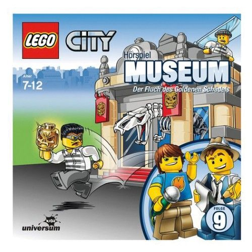 CD LEGO City 9 - Museum  http://www.meinspielzeug24.de/cd-lego-city-9-museum  #Junge #AudioVideo, #CD