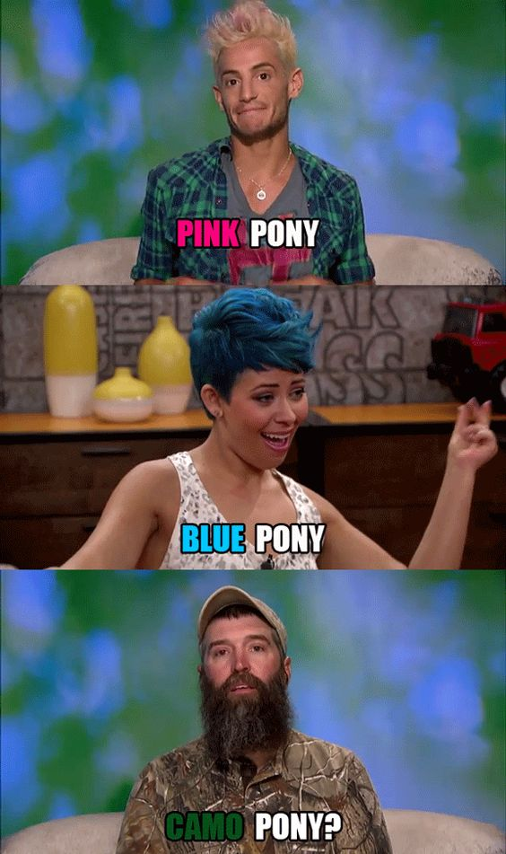 6 Unexpected Moments from the Big Brother Premiere: Abs and Crushes and Ponies, Oh My! - Big Brother - CBS.com...Donny's oh-so-endearing diary room sessions. We never thought there'd be a herd of ponies moving into the house?
