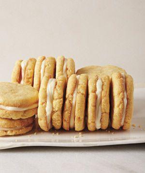 Get the recipe for Lemon Cornmeal Sandwich Cookies.