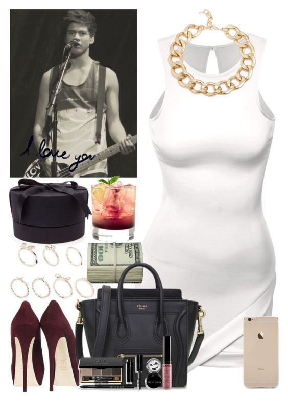 """""""Calum's birthday party with the guys and girls."""" by welove1 ❤ liked on Polyvore featuring Doublju, ALDO, Giuseppe Zanotti, Bobbi Brown Cosmetics, D.L. & Co. and Lipsy"""