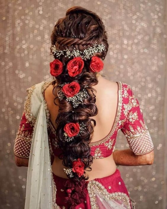 loose flowy braids