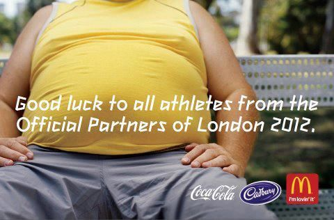 The official partners of London 2012.