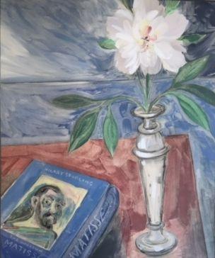 David Blackwood original Monotype, Matisse, 1999, 24 X 20 inches