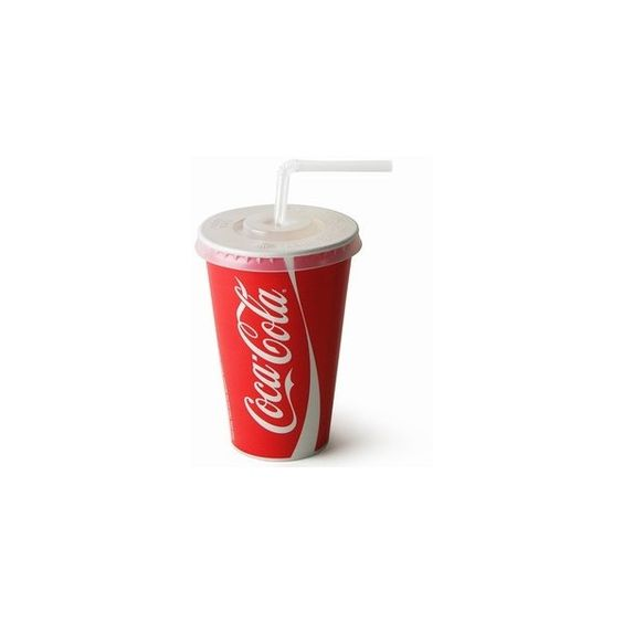 Coca Cola Paper Cups Set 12oz 340ml (0.15 CAD) ❤ liked on Polyvore featuring food, fillers, drinks, food and drink, food & drinks and backgrounds