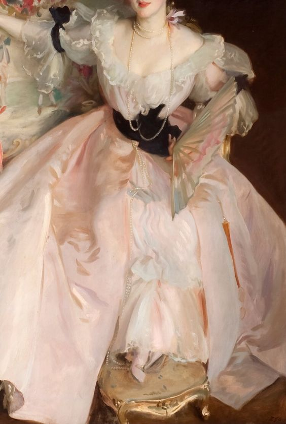 "paintings-daily: ""(Detail) Singer Sargent - Mrs Carl Meyer and her Children """
