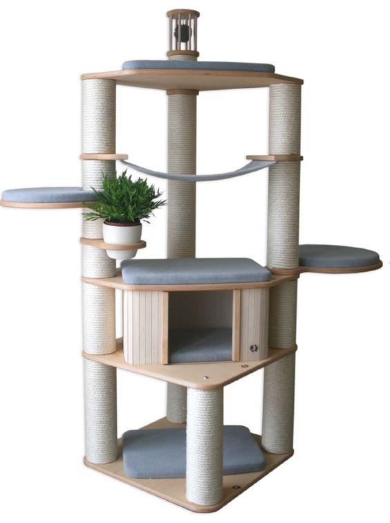 luxus kratzbaum catwalk m39 wonderful design lots of. Black Bedroom Furniture Sets. Home Design Ideas