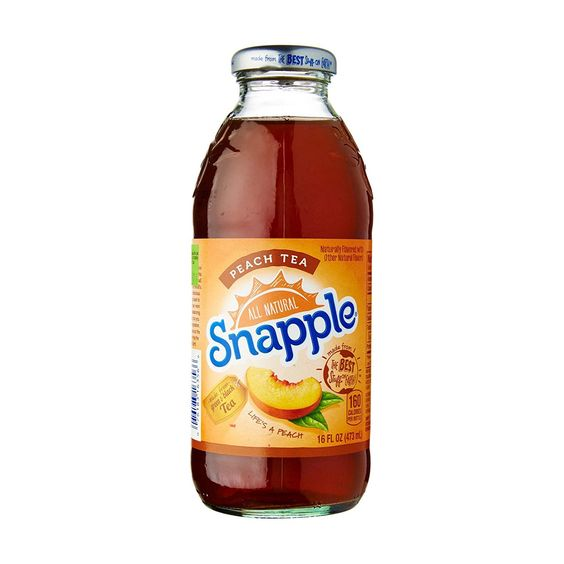 Snapple Iced Tea Peach 16 Oz You Can Get Additional Details At The Image Link This Is An Affiliate Link And I Receive A Commission F Snapple Tea Peach Tea