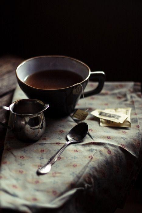 enjoy a cup of tea