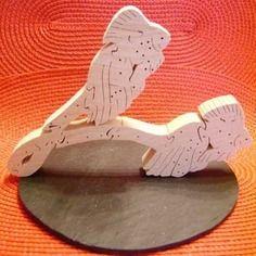"""Puzzle en bois massif signe du zodiaque """"le poisson"""""""