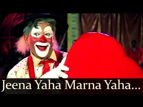 Mera Naam Joker Jeena Yahan Marna Yahan Mukesh Youtube Joker