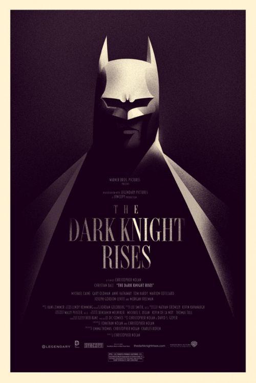 The Dark Knight Rises (Olly Moss)