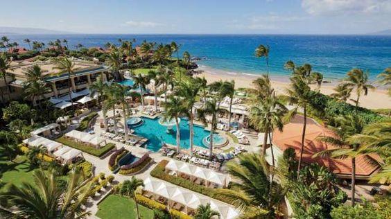 Nothing like a birds eye view of one of the most fabulous resorts    Four Seasons Resort Wailea, Maui