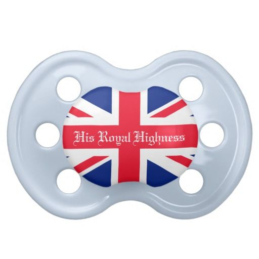 His Royal Highness Royal Baby Baby Pacifiers. Celebrate the arrival of Prince George of Cambridge!