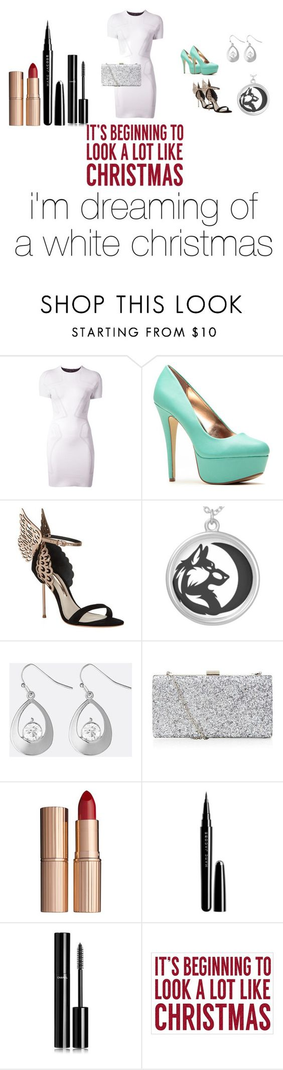 """Christmas"" by alexis3henry ❤ liked on Polyvore featuring Alexander Wang, Sophia Webster, Avenue, Charlotte Tilbury, Marc Jacobs, Chanel and Sixtrees"
