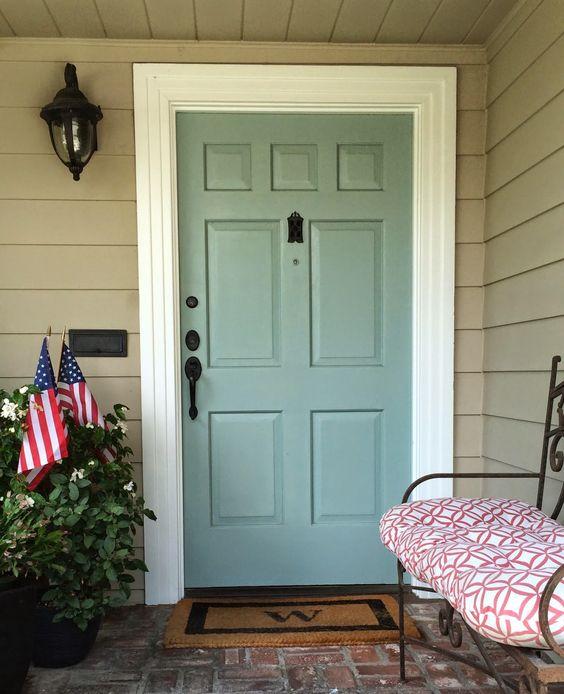 Covington Blue Hc 138 Benjamin Moore: Benjamin Moore, Doors And Blue On Pinterest