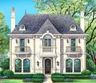 Desert Pines House Plan   French Chateau Homes  French Chateau and    Chateau Voila House Plan