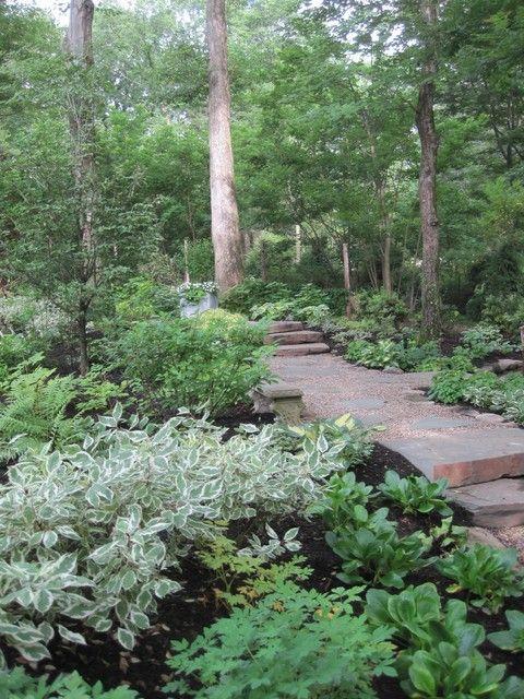 A Classic Country White Garden - traditional - landscape - new york - Deborah Cerbone Associates, Inc.: