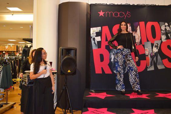 Fashion Rocks : Fashion happy hour// Macy's