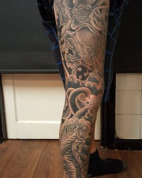 Japanesetattoo Japanese Irezumi Tattoo Horimono Wabori Peony Botan Bexleyheath Kent Londontattoo London Tanuki Japanese Tattoo Tattoos Ford Tattoo